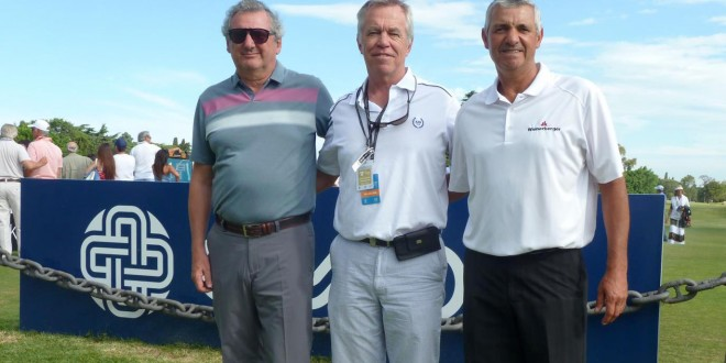 Fernando Sansuste, Miguel Leeson y César Monasterio
