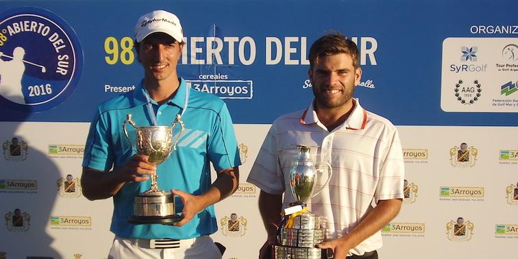 Francisco Bidé y Leandro Correa.