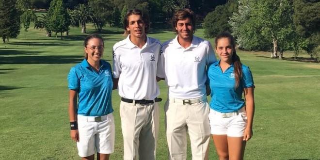 Agustina Zeballos, Segundo Oliva Pinto, Agustín Acuña y Ela Belén Anacona.