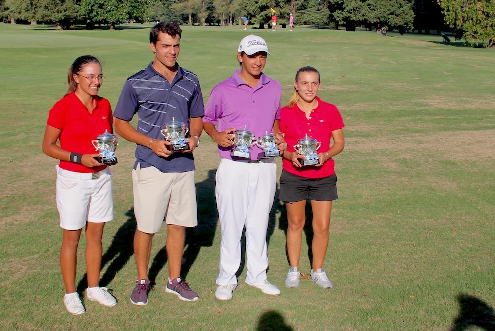 Agustina Zeballos, Horacio Carbonetti, Jesús Montenegro y Margarita Llanos