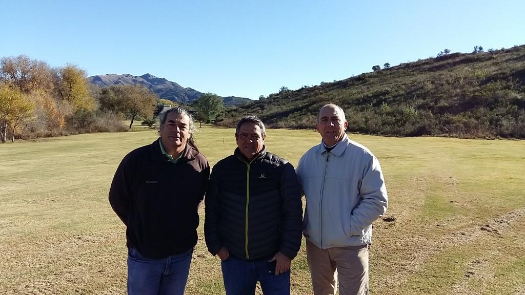 Juan Carlos Vargas, Guillermo Prieto, Enrique Colavita