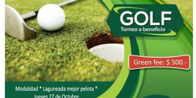Flayer Torneo de Golf 2016 ok