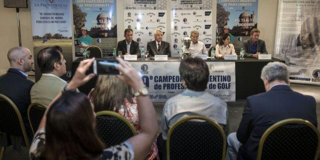Conferencia de prensa previa al 79 torneo PGA de Golf Foto: Gustavo Cherro ©