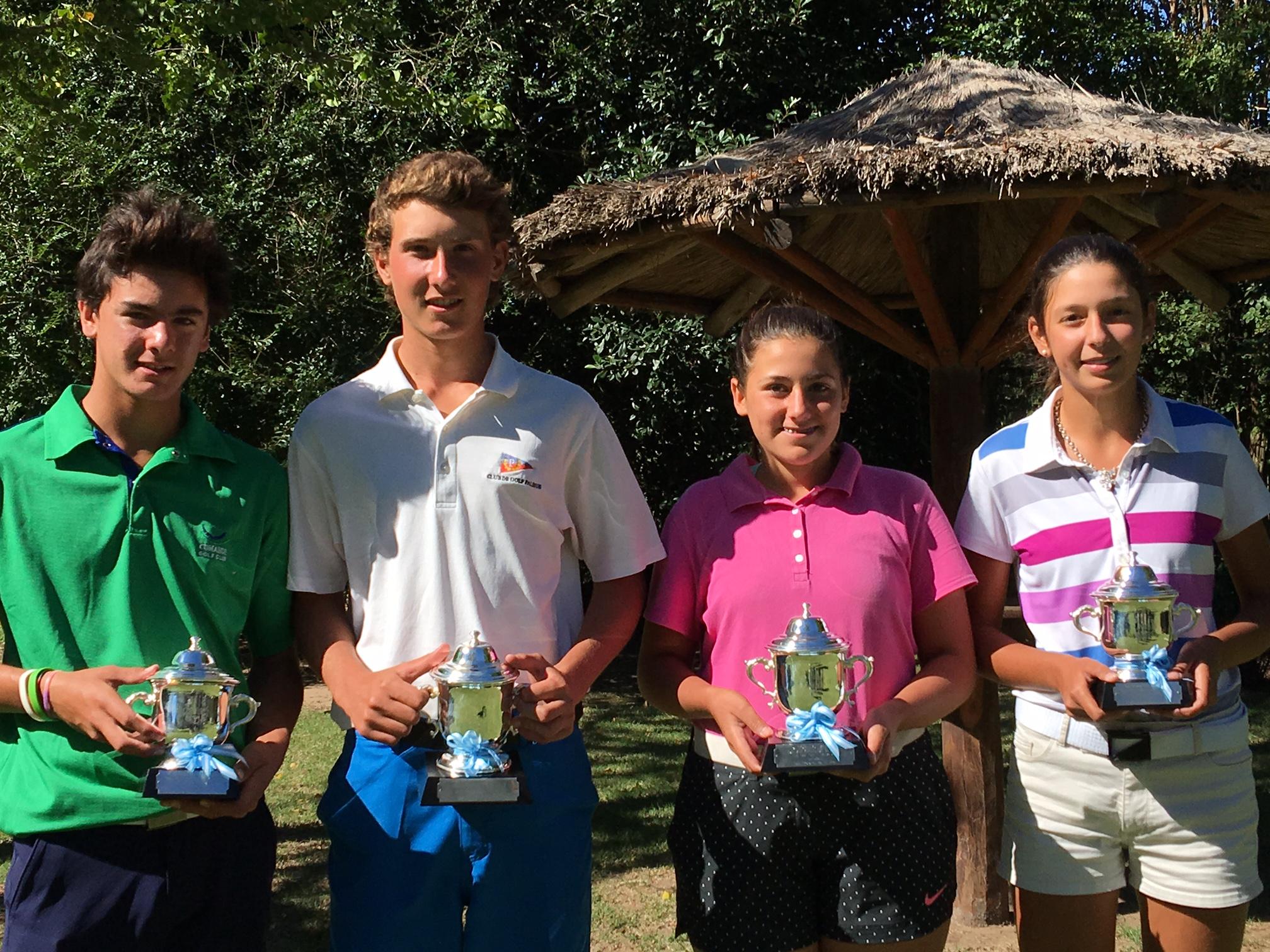 Lucas Zavala, Gregorio Ferrández, Catalina Rendo y Lucía Allub