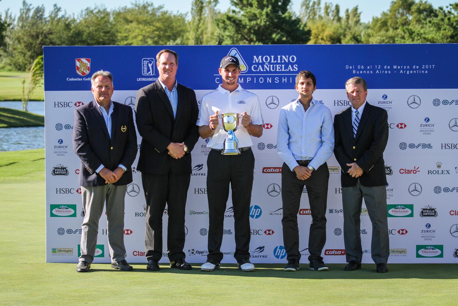 Andrés Schönbaum, John Slater, Brandon Matthews, Mariano Navilli y Jack Warfield.