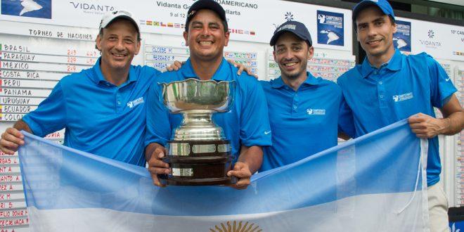 Argentina se quedó con la copa de la 10ma edición del Campeonato Latinoamericano de Golf
