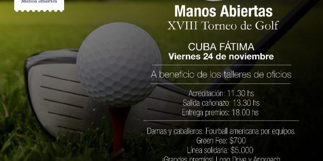 Invitación Torneo Golf - Manos Abiertas-001
