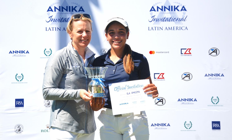 Annika y Ela Anacona
