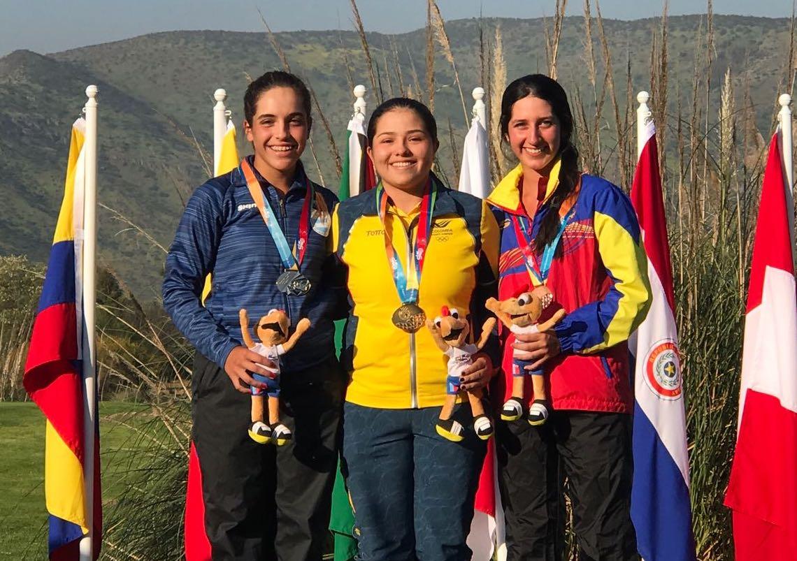 Ela Anacona,   Valery Plata y Vanessa Gilly Lora