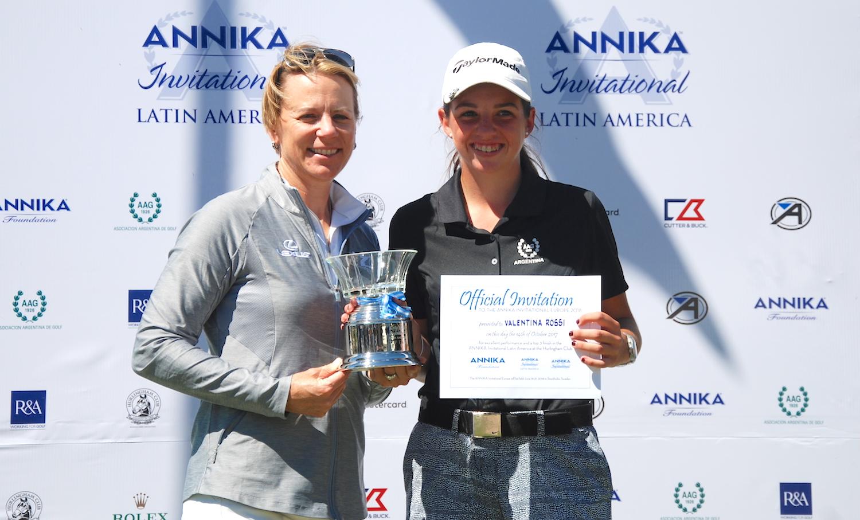 Annika y Valentina Rossi
