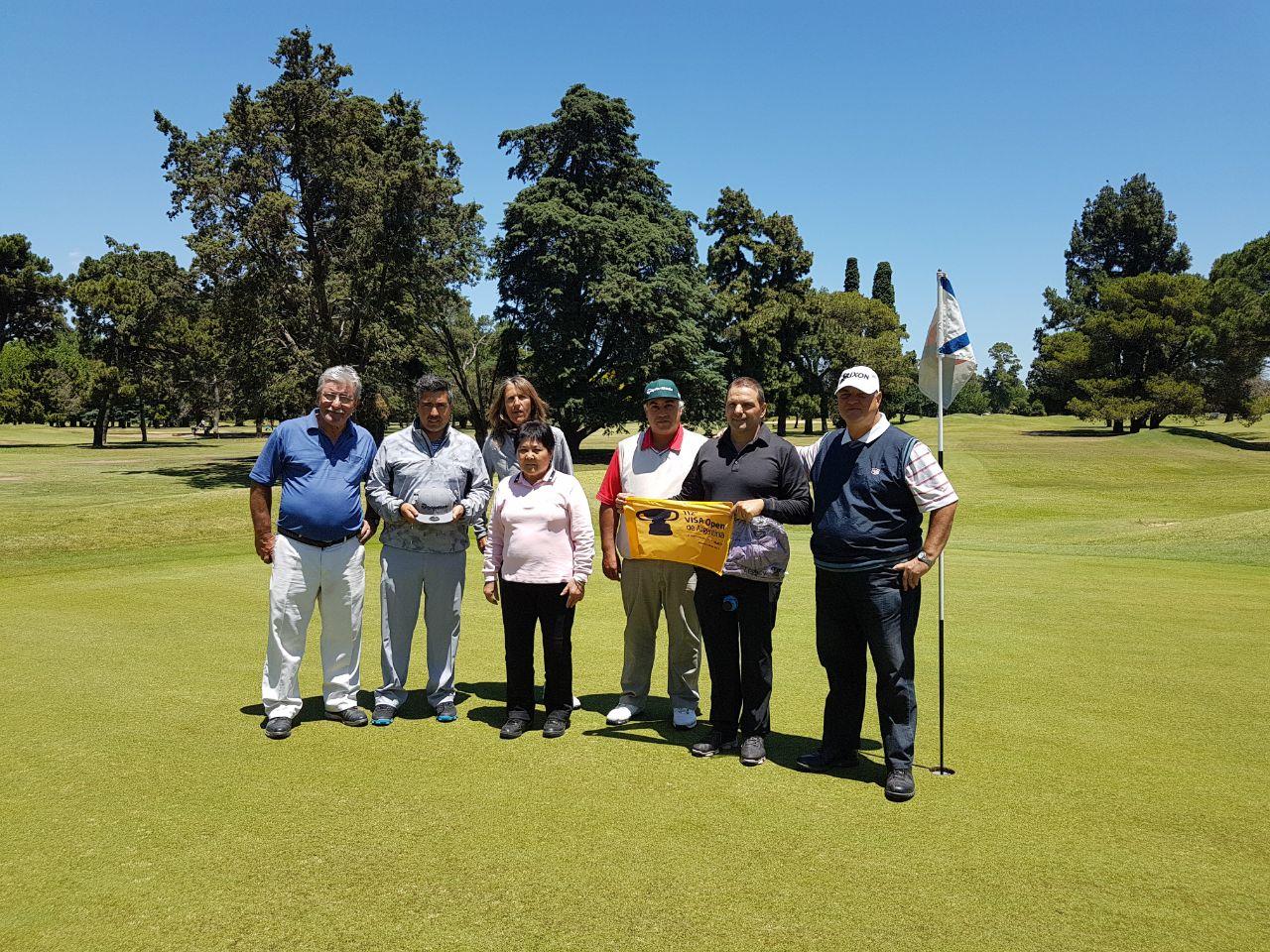 Participantes Torneo de Voluntarios 112 Visa Open