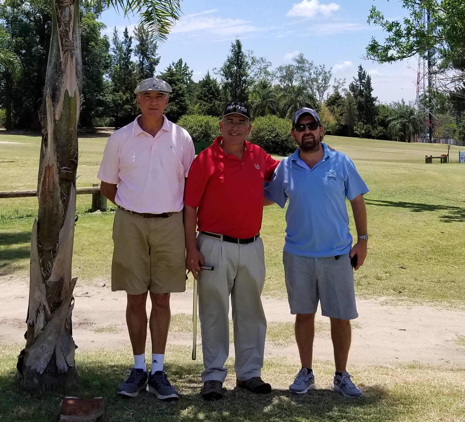 Guillermo Blanco, Guillermo Busso y Esteban Caprarulo (h)