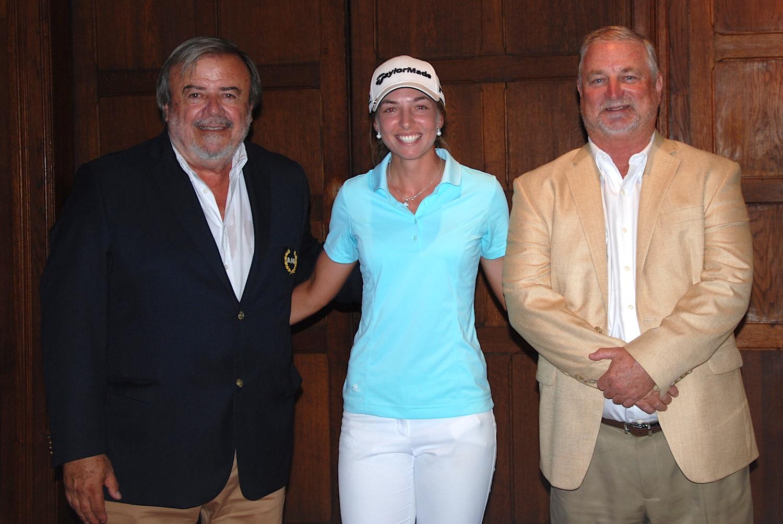 Jorge Andueza, Manuela Carbajo Ré y Mark Lawrie