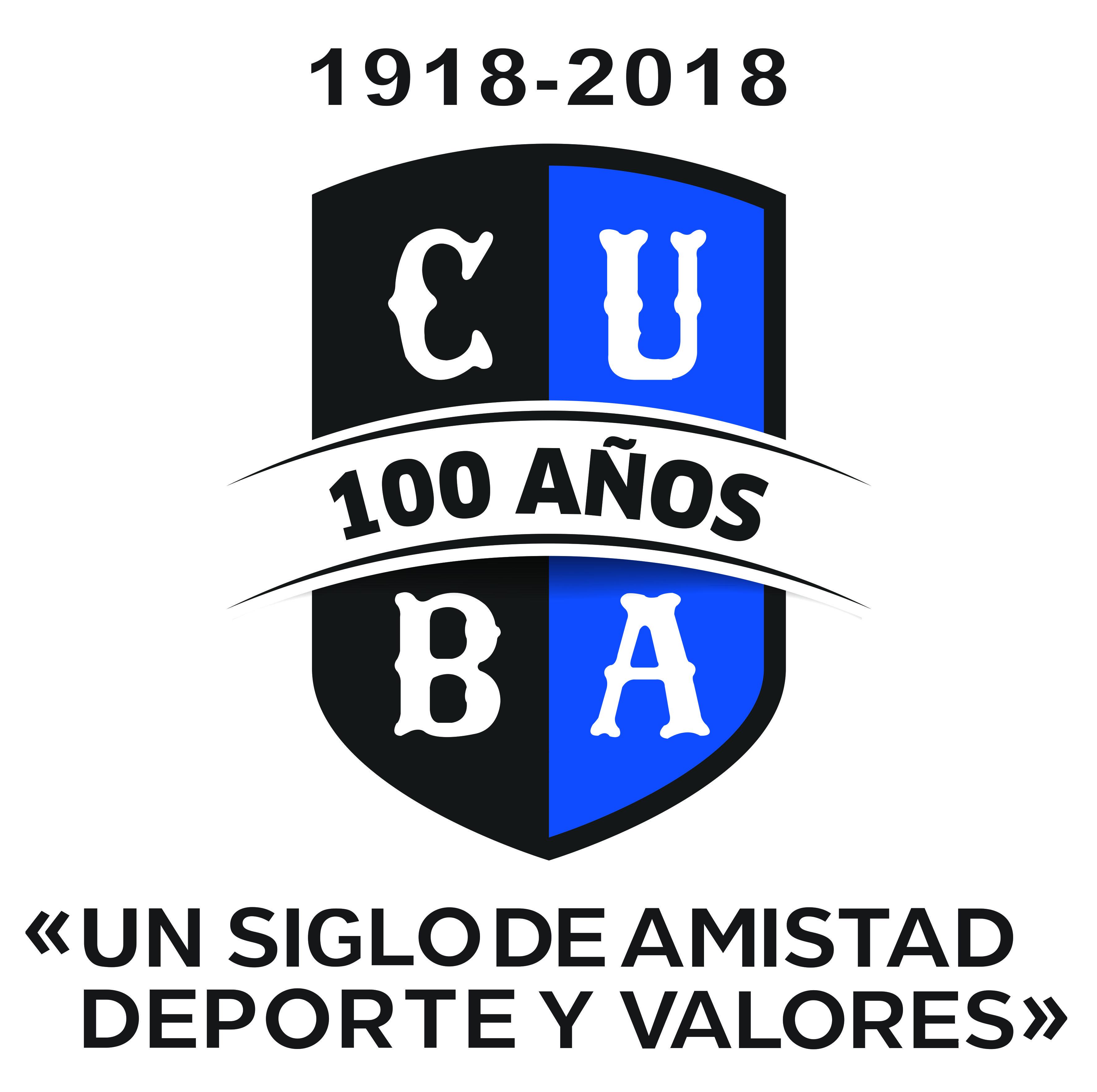 Logo CUBA centenario año y frase cuadrado