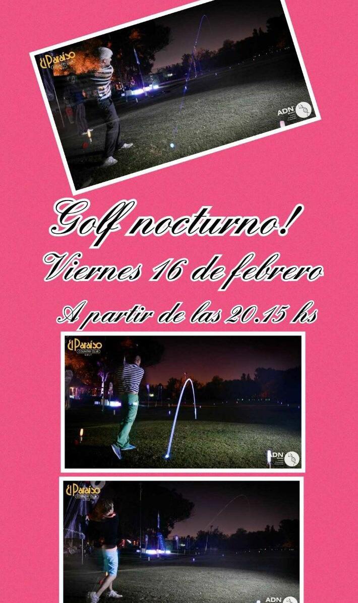 golf nocturno