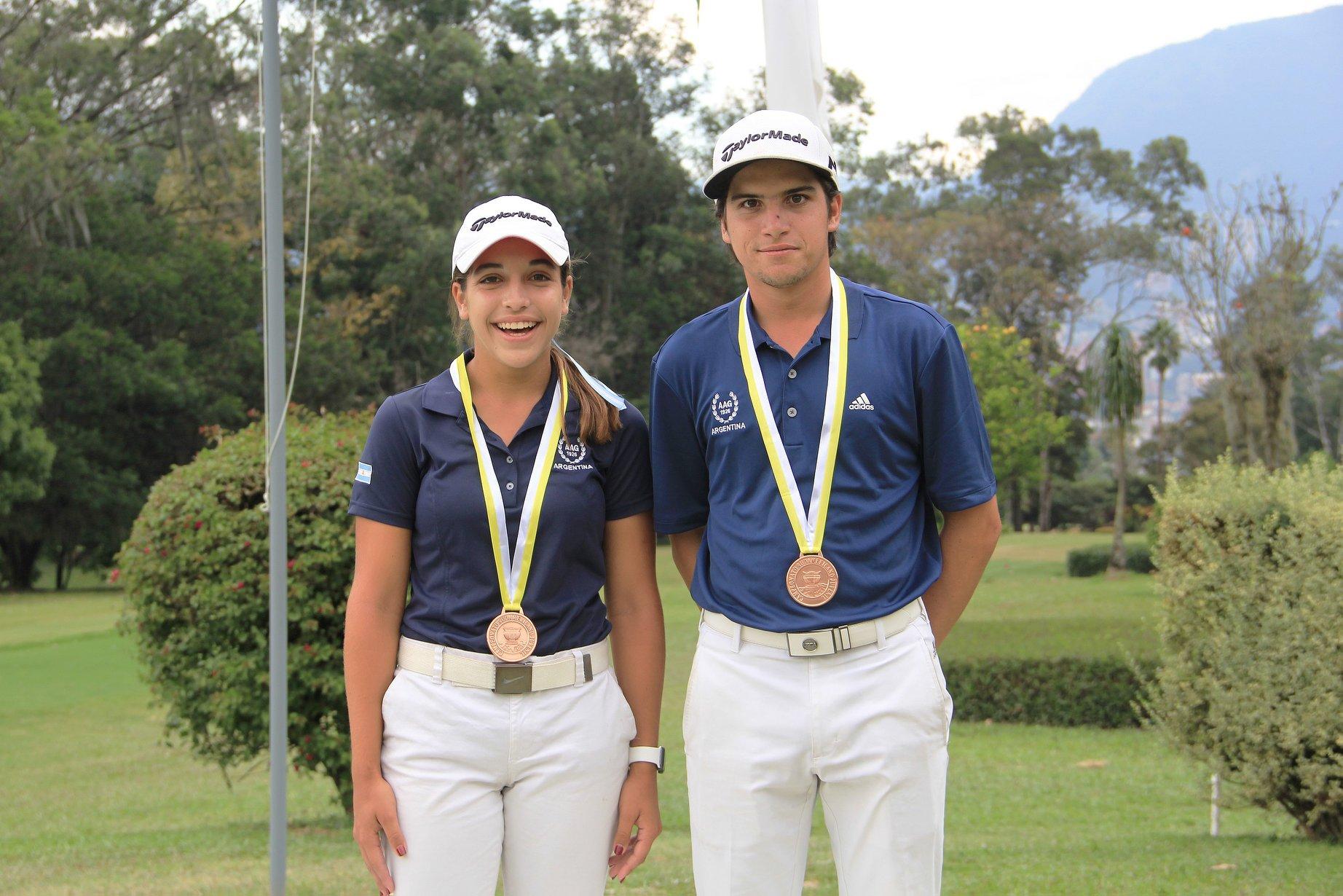 Ela Anacona y Mateo Fernández de Oliveira