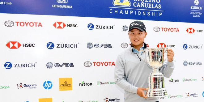 Thomas Baik. Foto Enrique Berardi. PGA Tour