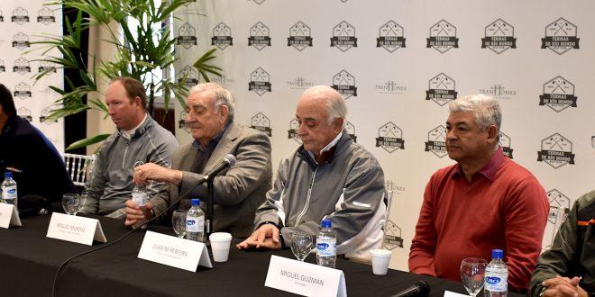 Ricardo González, Daniel Vancsik, Miguel Mukdise, Juan Manuel Pereyra, Miguel Guzmán y Carlos Silva.