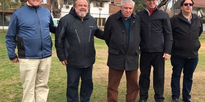 Guillermo Mesa, Jorge Andueza, Danilo Mesa, Marcelo Schifrin y Gustavo Fosco.