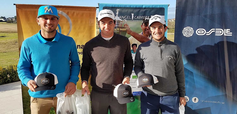 Oreste Focaccia, Ignacio Marino y Ezequiel Beloqui