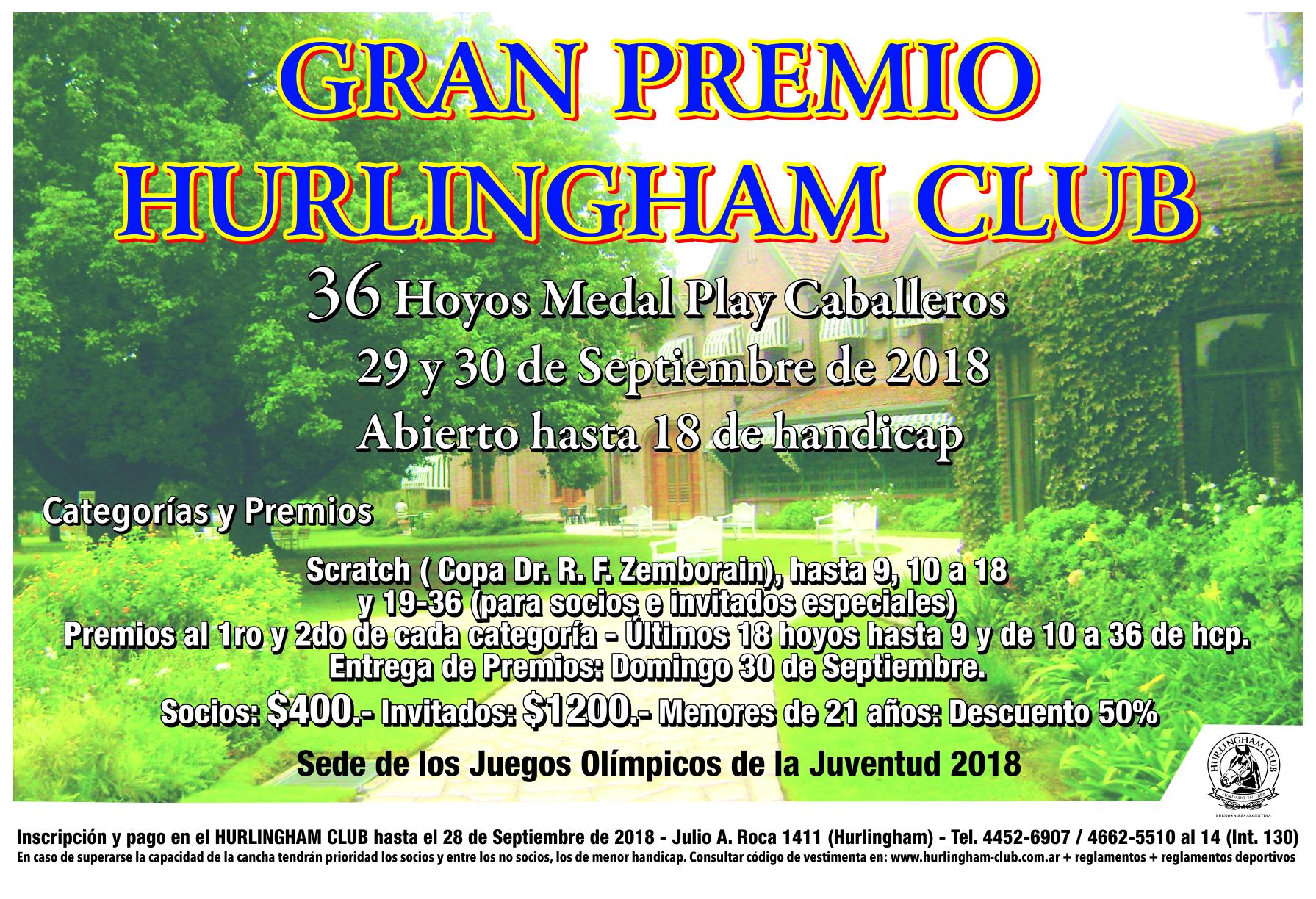 GRAN PREMIO H.C.CAB 2018