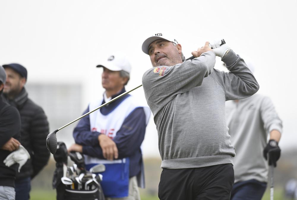 Ángel Cabrera. Foto Enrique Berardi - PGA Tour