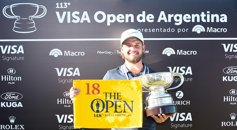 Isidro Benítez. Enrique Berardi - PGA Tour