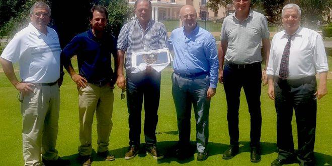 Guiilermo Busso, Pablo Marti,  Jorge De Rose, Ernesto Ballestero, Norberto Gruffat  y Jose L. Primucci.