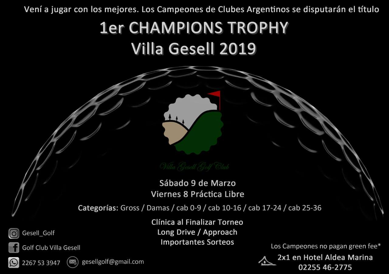 TORNEO CHAMPIONS TROPHY