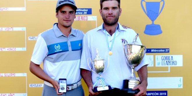 Mateo Fernández de Oliveira y Leandro Correa.