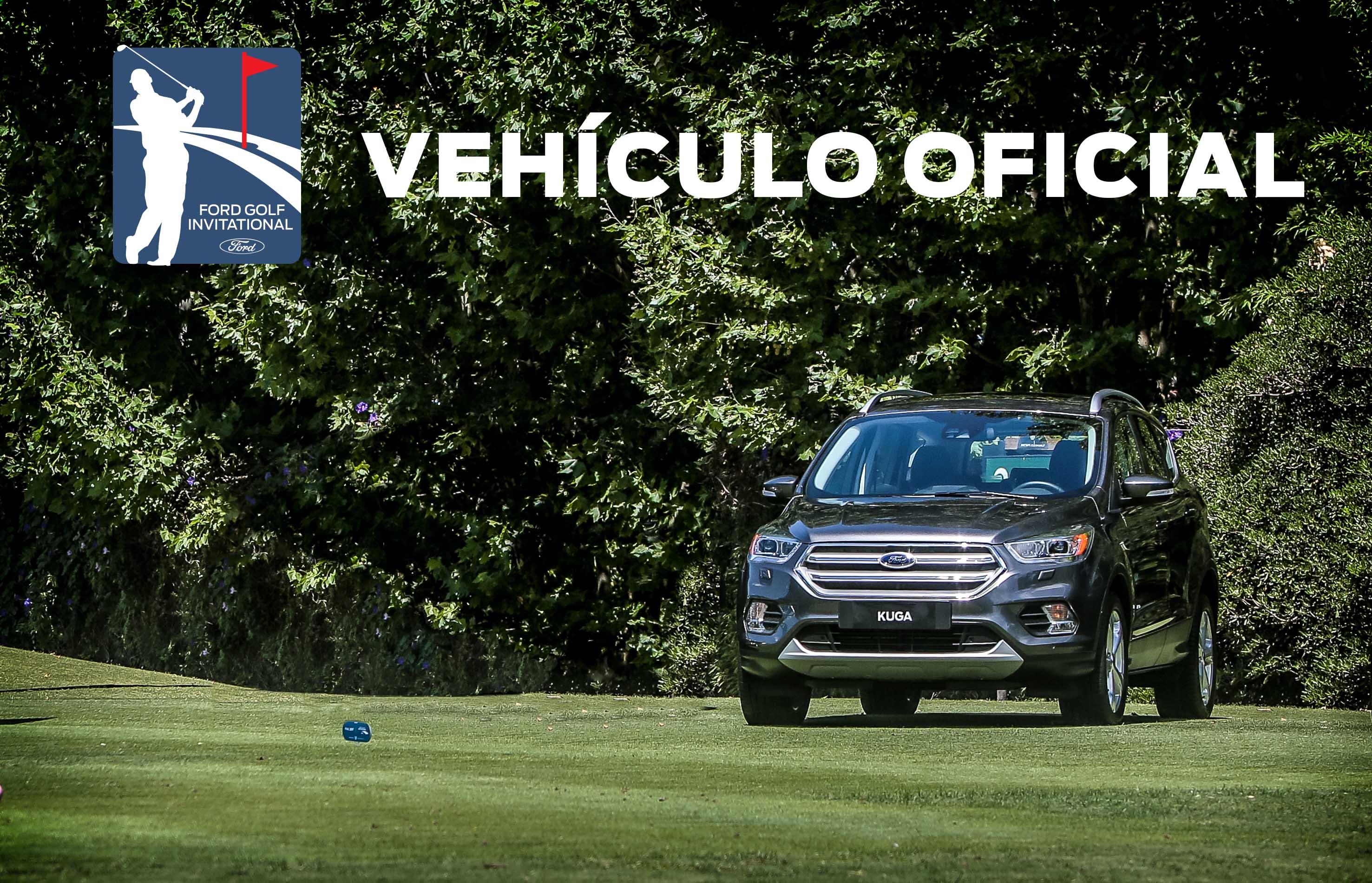 El nuevo KUGA es el Vehículo Oficial del Ford Golf Invitational