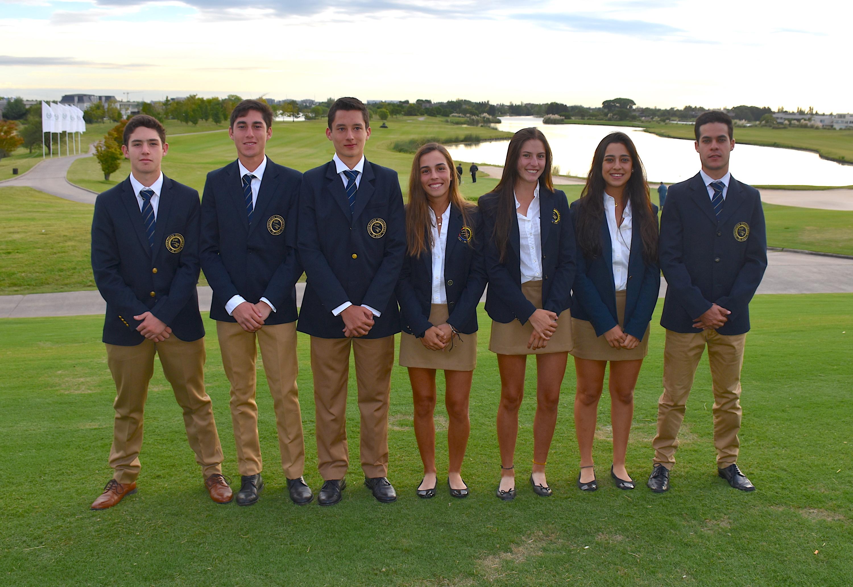 Ecuador. Nicolás Cimadevila, Renato Naula, Pablo Wills, María Beatriz Arizaga, Isabela Cuisana, Daniela Salazar y José Andrés Miranda.