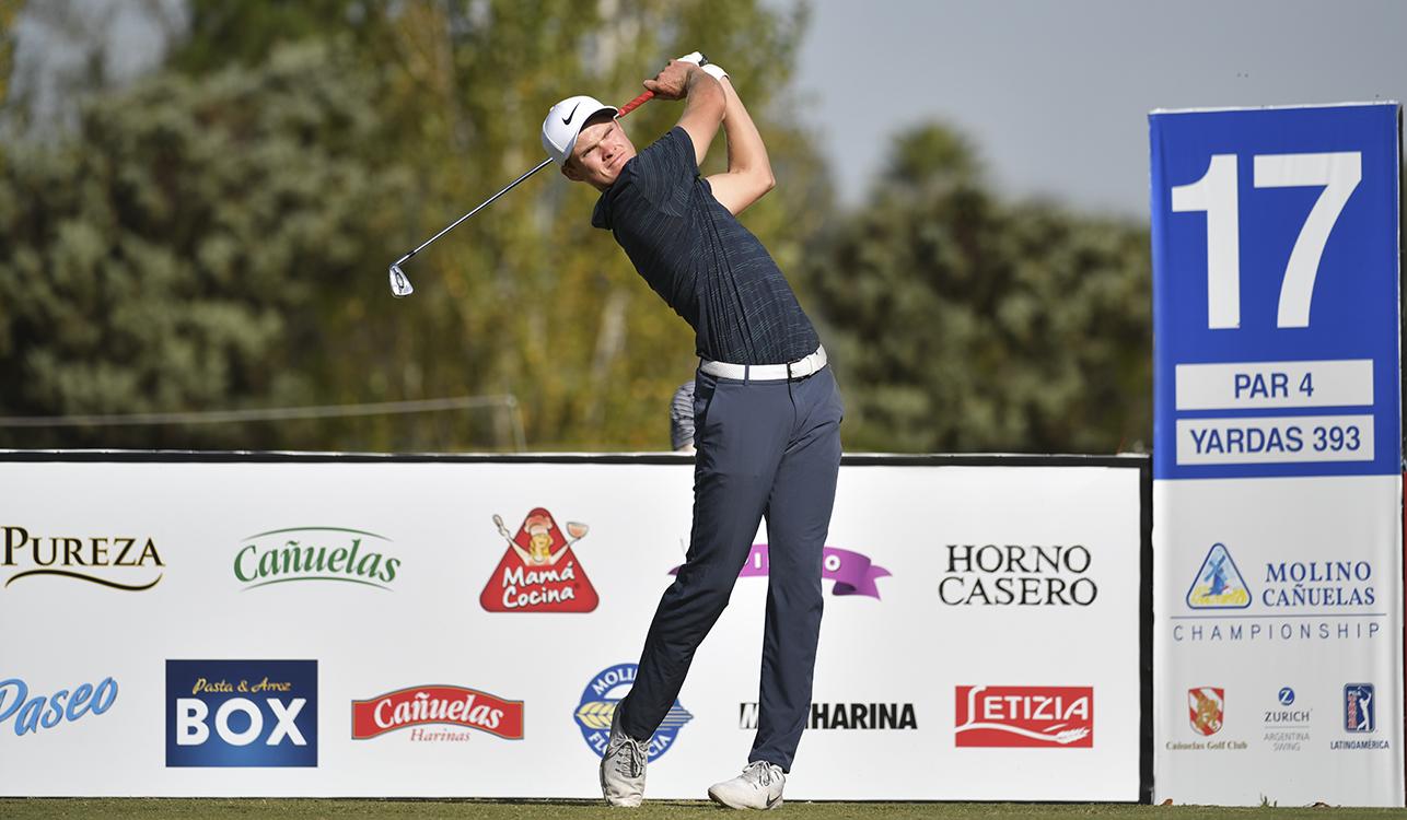 Andreas Halvorsen. (Photo by Enrique Berardi/PGA TOUR)