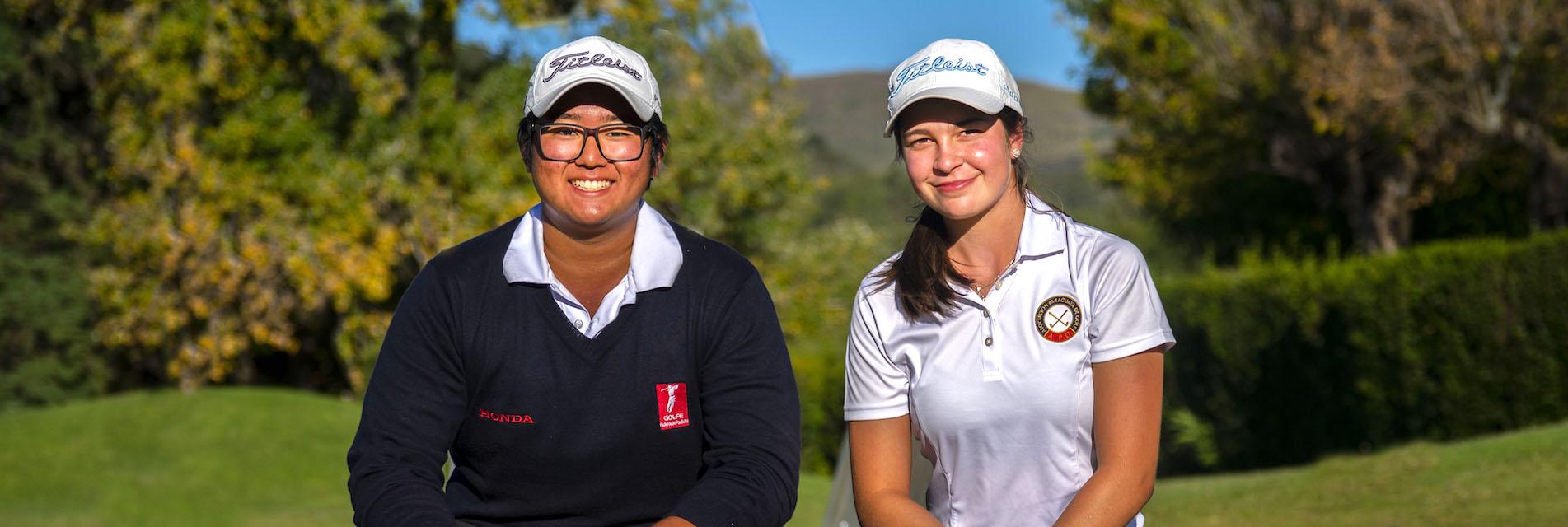 Lucas Park y Giovanna Fernández López.