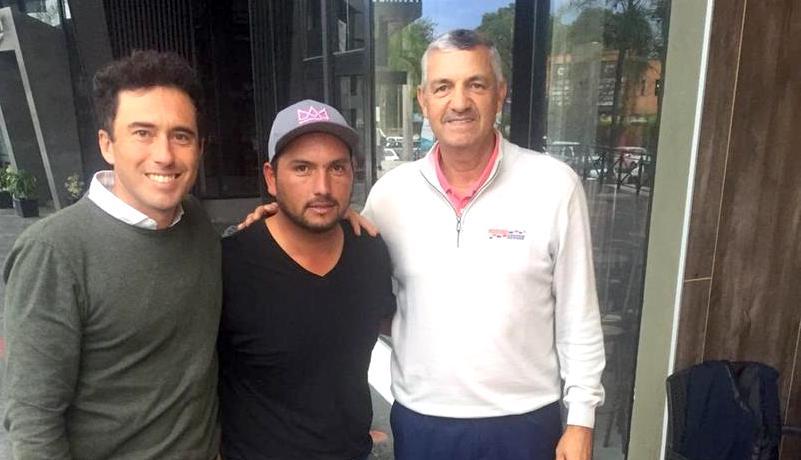 Pedro Caram, Jorge Monroy y César Monasterio.