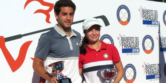Aram Yenidjeian y María Cabanillas.