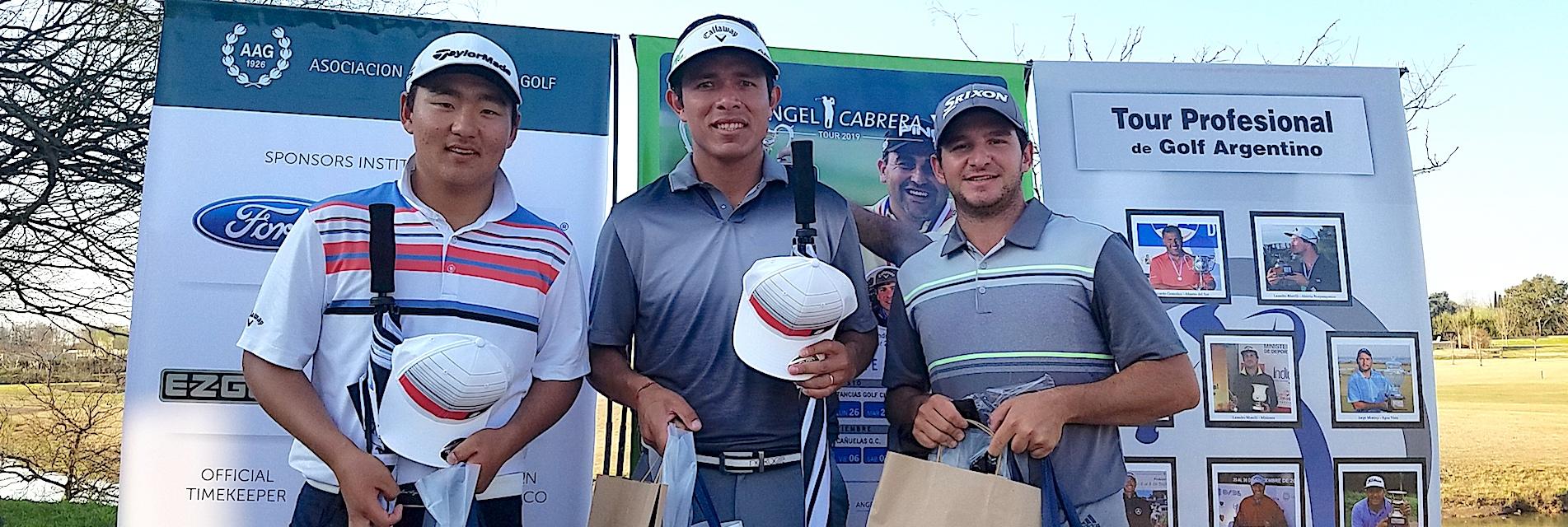Federico Shin, Augusto Núñez y Alejandro Tosti.