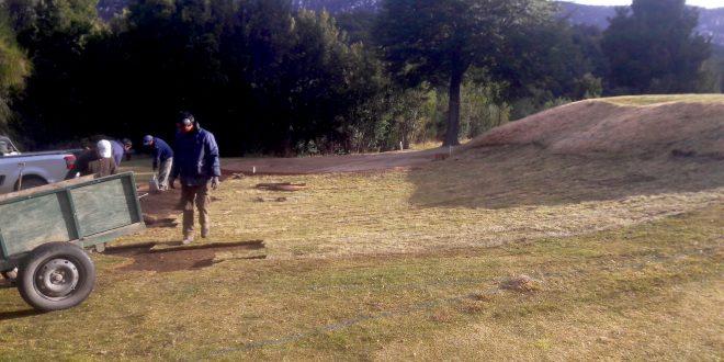9-Arelauquen -Hoyo 14 - Trabajo de empanado 5