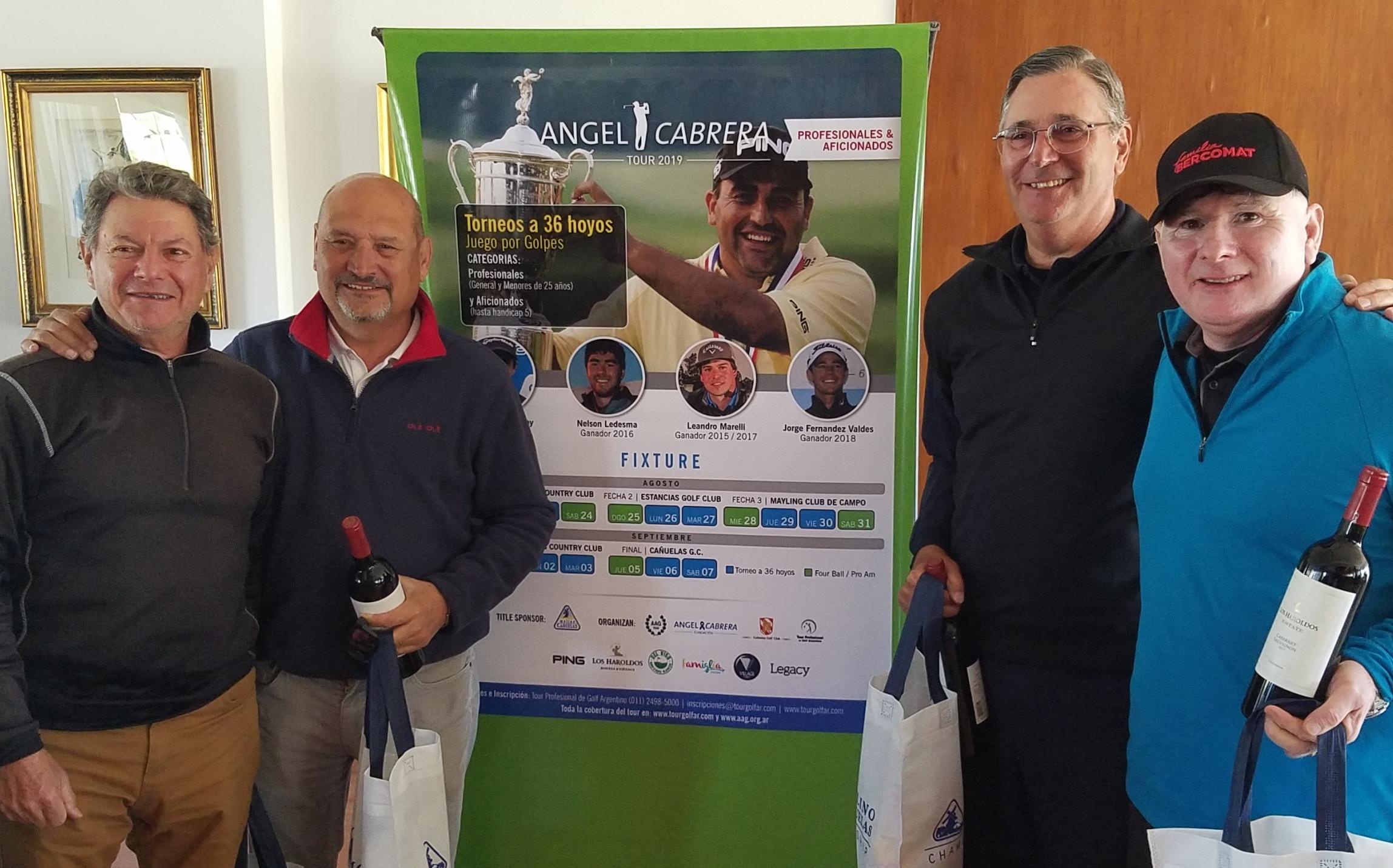Ganadores PROAM Golfers