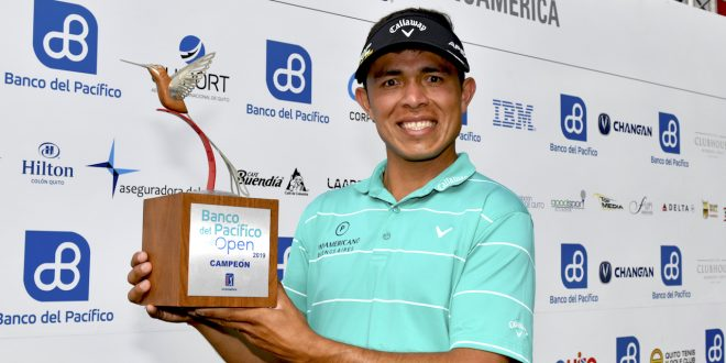 QUITO, ECUADOR - OCTOBER 06: during the final round of the PGA TOUR Latinoamerica Banco del Pacifico Open presentado por Quito Alcaldia at Quito Golf and Tennis Club on October 6, 2019 in Quito, Ecuador. (Photo by Enrique Berardi/PGA TOUR)