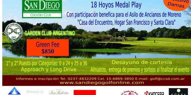 Torneo Garden Club Argentino San Diego 2019