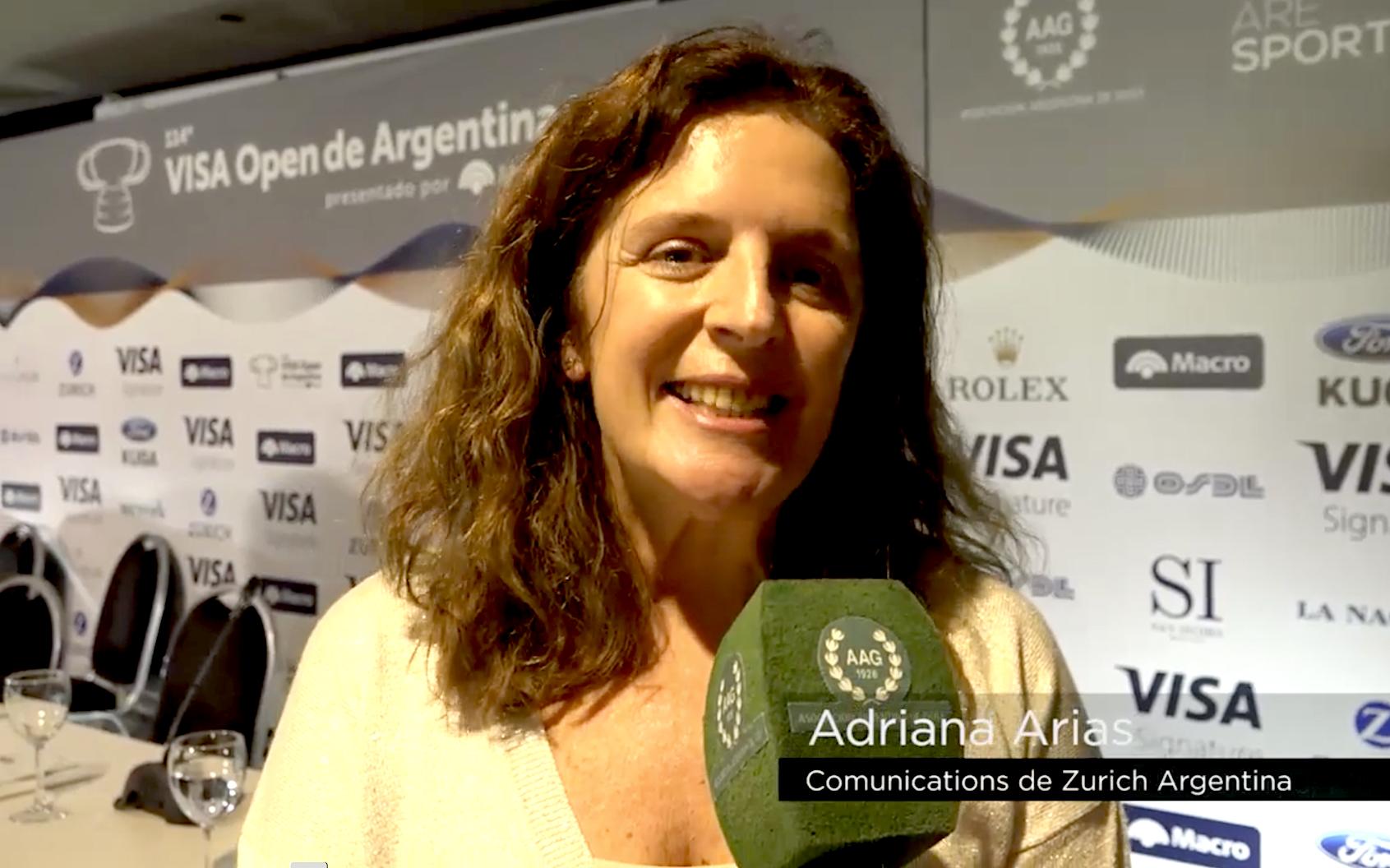 Adriana Arias.