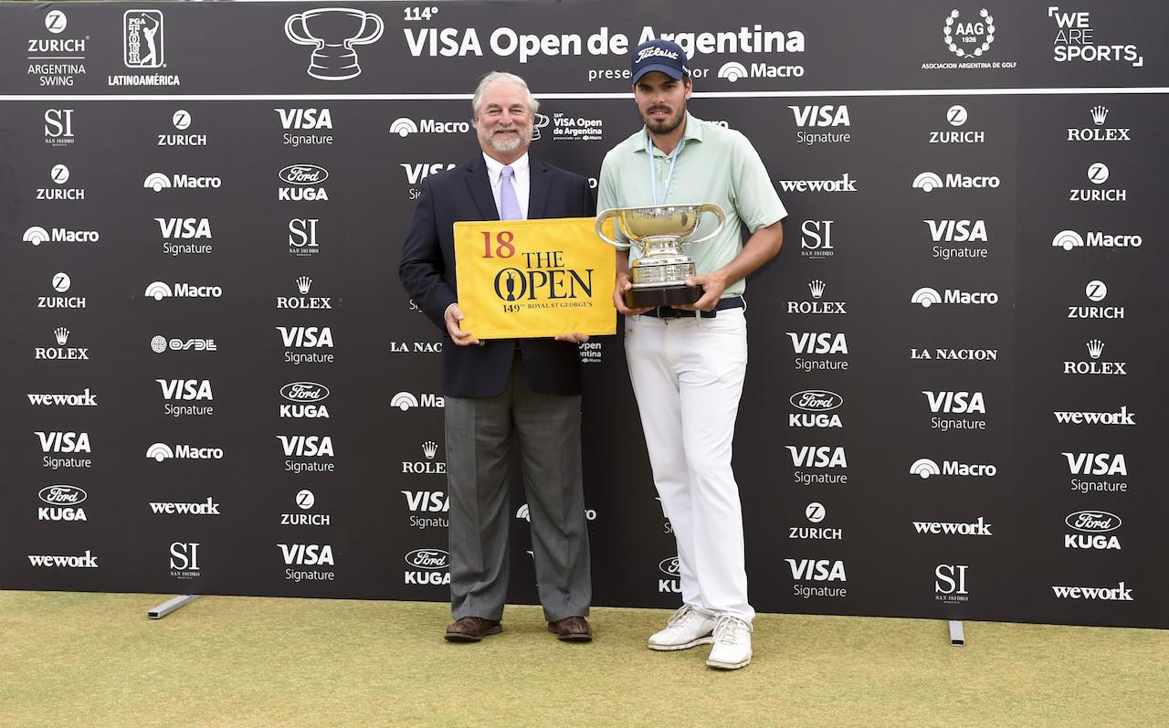 Ricardo Celia y Mark Lawrie. (Photo by Enrique Berardi/PGA TOUR)