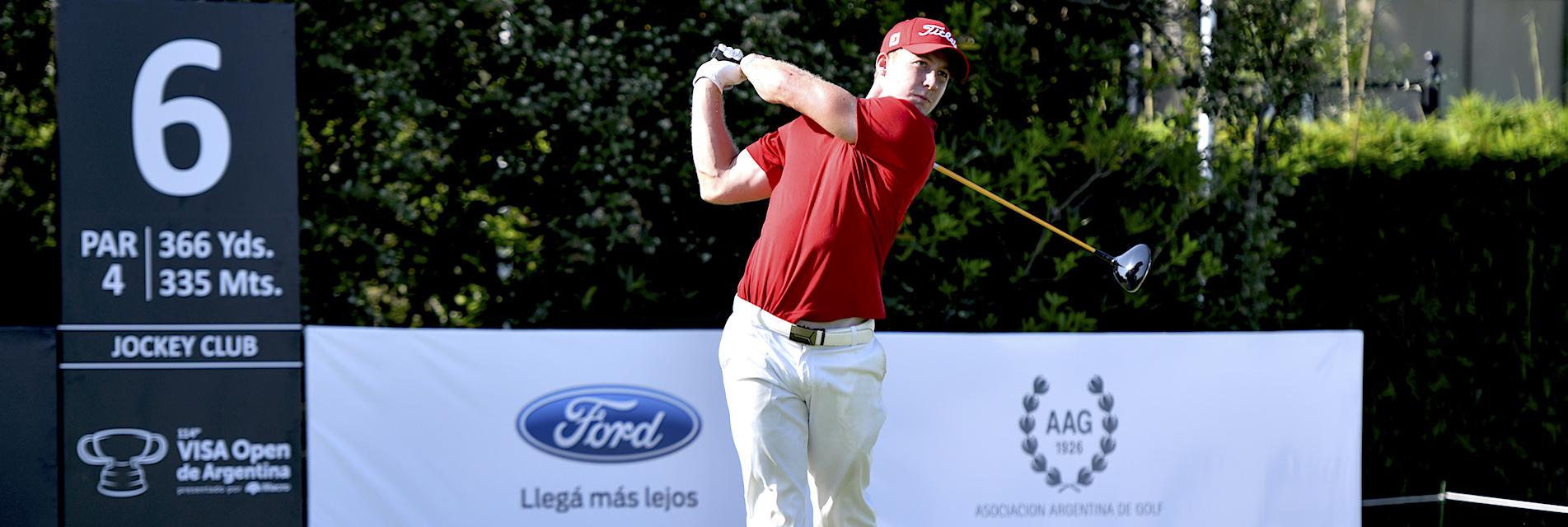 Victor Lange. (Photo by Enrique Berardi/PGA TOUR)