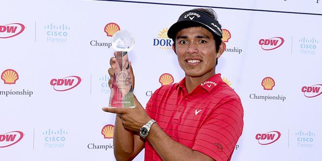 Augusto Núñez. (Photo by Enrique Berardi/PGA TOUR)