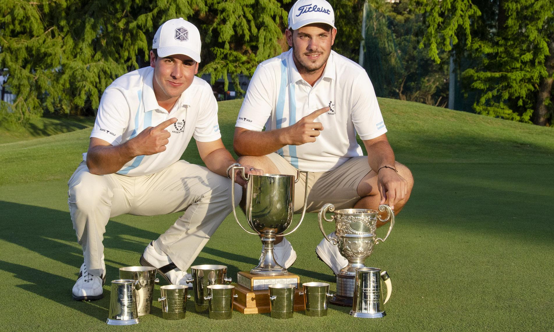 Julián Álvarez Merialdo y Mariano Silvestri.